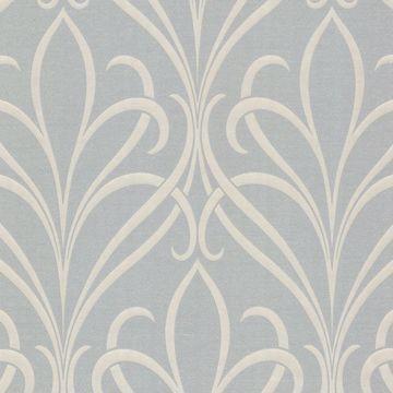Lalique Grey Nouveau Damask