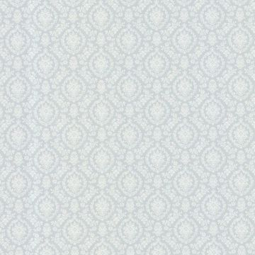 Bella Blue Damask