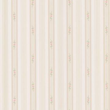 Belle Beige Rose Stripe