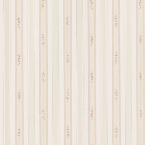 Belle Beige Rose Stripe
