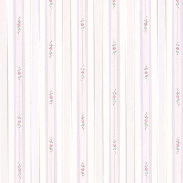 Belle Purple Rose Stripe
