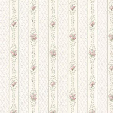 Jaynie Blush Trellis Stripe