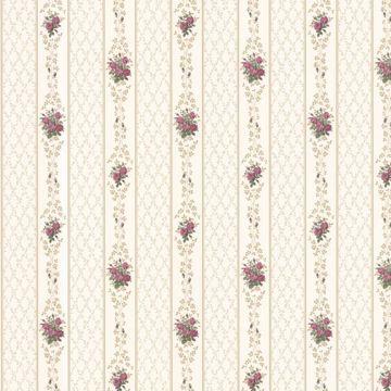 Jaynie Burgundy Trellis Stripe