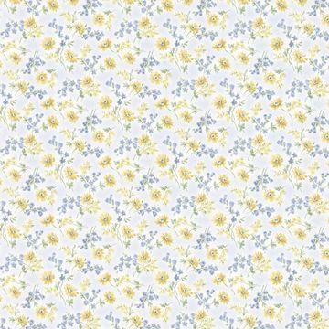 Lizabeth Blue Allover Floral