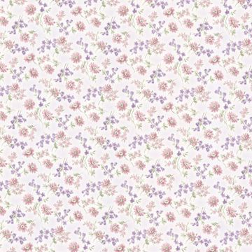 Lizabeth Purple Allover Floral