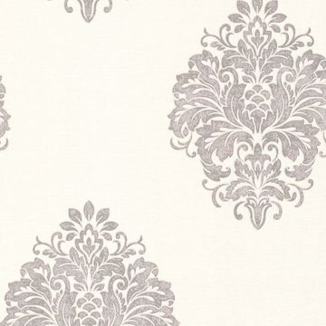 Duchess Silver Damask