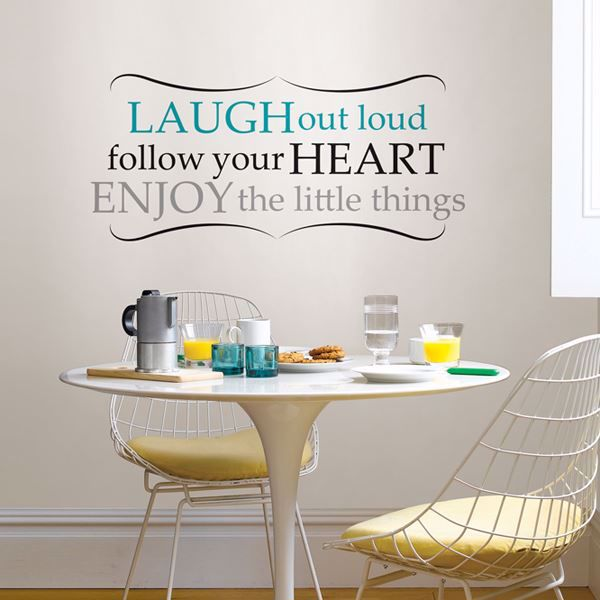 Laugh Out Loud Wall Quote
