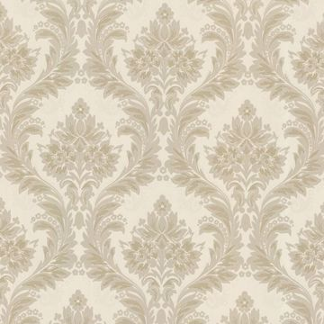 Mercutio Taupe Damask