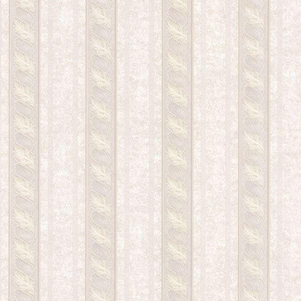 Montague Mauve Scroll Stripe
