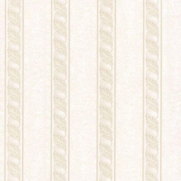 Montague Cream Scroll Stripe