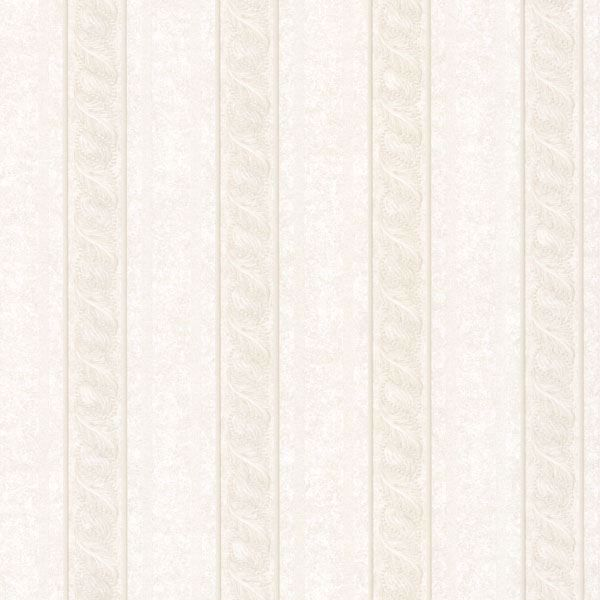 Montague Off-White Scroll Stripe