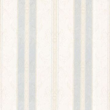 Tybalt Light Grey Damask Stripe