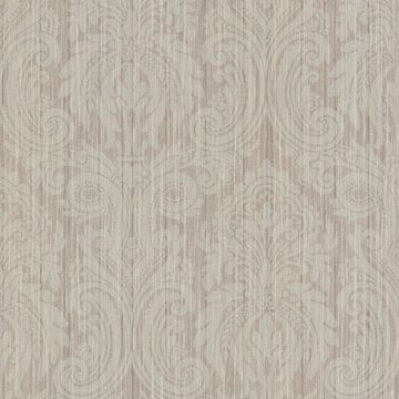 Paris Light Brown Damask
