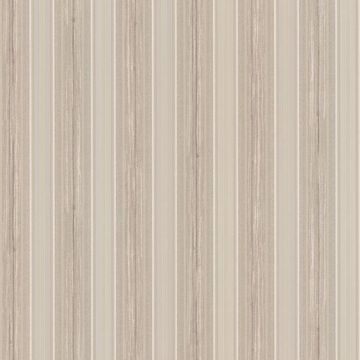 Tiberio Light Brown Silk Stripe