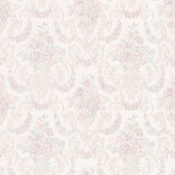 Phebe Lavender Floral Urn