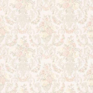 Phebe Peach Floral Urn