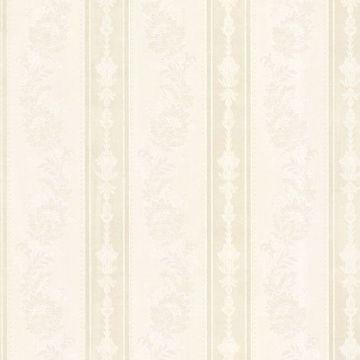 Abraham Ivory Embellished Stripe