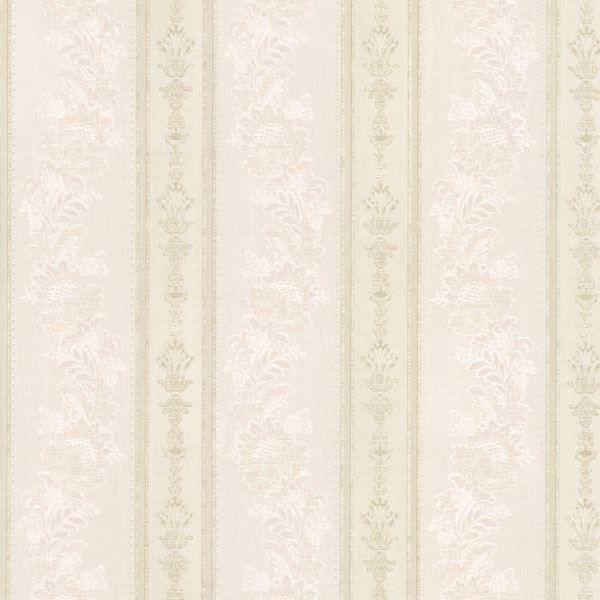 Abraham Cream Embellished Stripe
