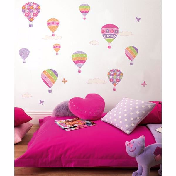Air Balloons Wall Stickers