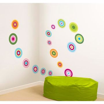 Candy Dot Wall Stickers