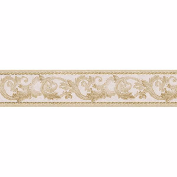 Gold Scroll Rope  Border