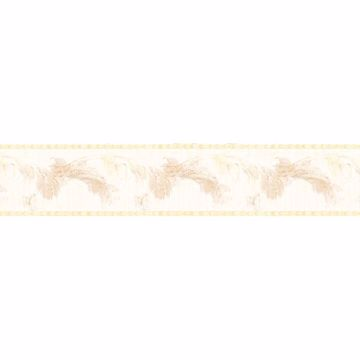 Pearl Scrolling Leaf Border