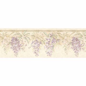 Lavender Bamboo Floral Hang Border