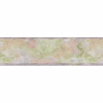 Lavender Watercolor Abstract Border