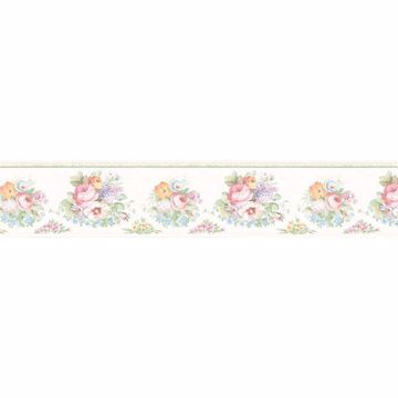 Pearl Flower Bouquets Border