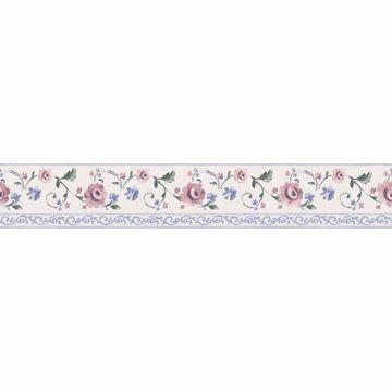 White Rose Scroll   Border
