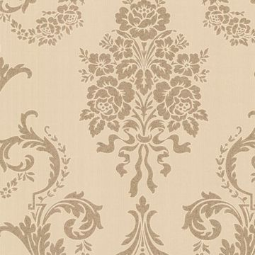 Chambers Gold Floral Damask