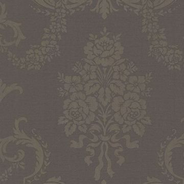 Chambers Espresso Floral Damask
