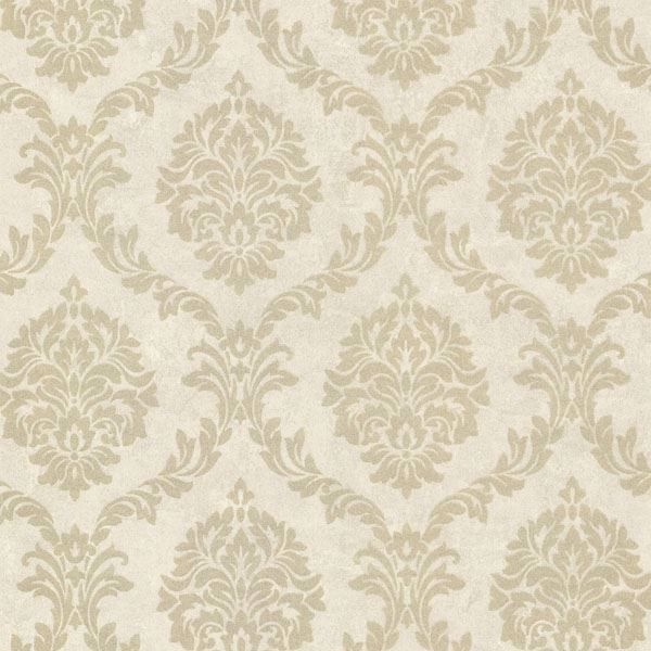 Tennyson Gold Shimmer Damask
