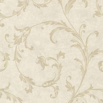 Milton Neutral Shimmer Scroll