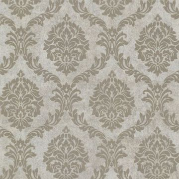 Tennyson Taupe Shimmer Damask