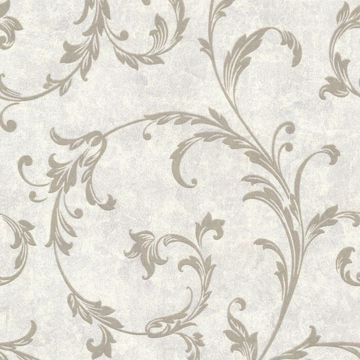 Milton Pewter Shimmer Scroll