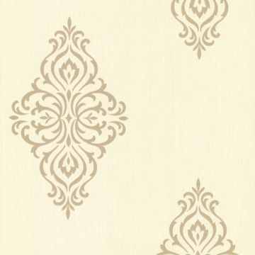 Powell Gold Damask Medallion