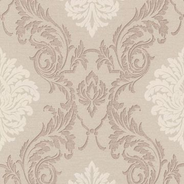 Rennie Beige Damask