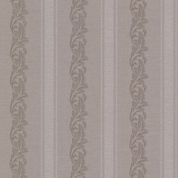 Rennie Stripe Brass Scrolling Stripe