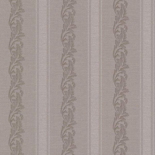 Rennie Stripe Brass Scrolling Stripe