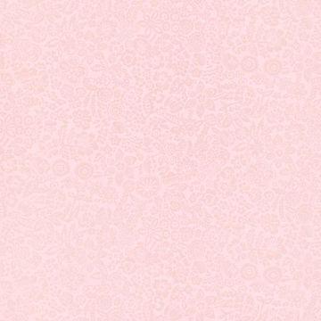 Majorca Light Pink Vivacious Floral Relief