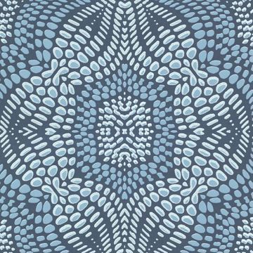 Iberian Aqua Fractal Geometric