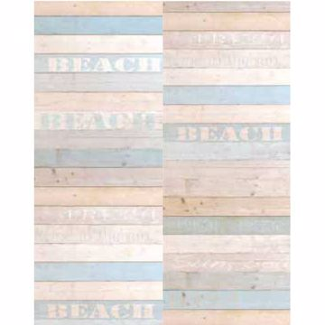 Madero Blue Beach Wood Panels