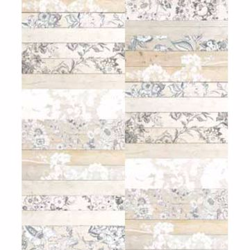 Madera Mosaico White Painted Wood Panels