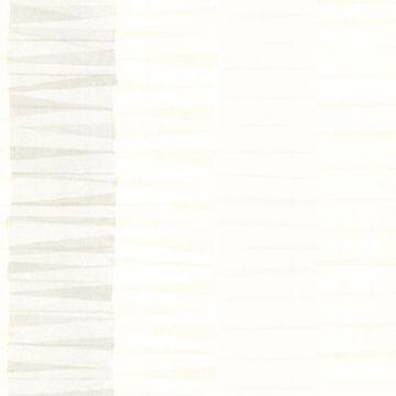 Cala Nova Taupe Layered Crepe Stripe