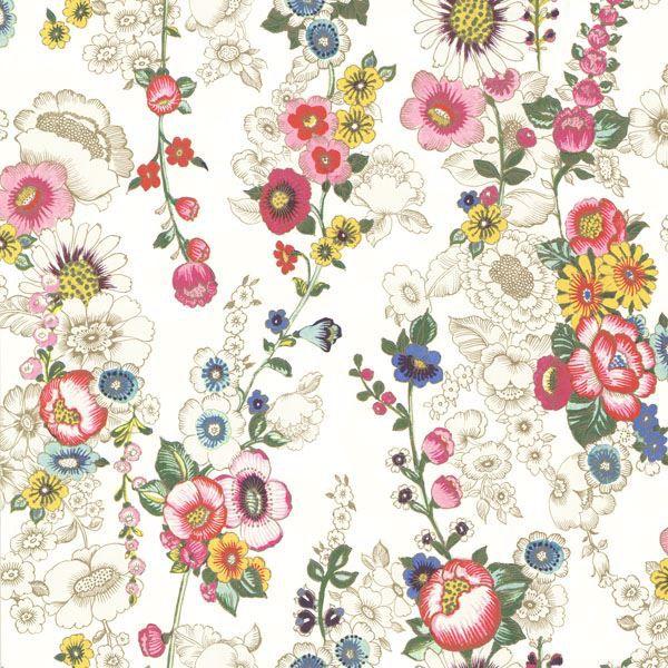 Eivissa Cream Vivid Floral