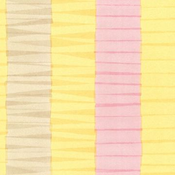 Cala Nova Yellow Layered Crepe Stripe