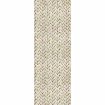 Tapiz Sisal Beige Cable Knit Texture