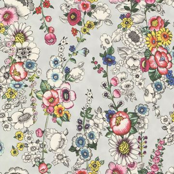 Eivissa Grey Vivid Floral