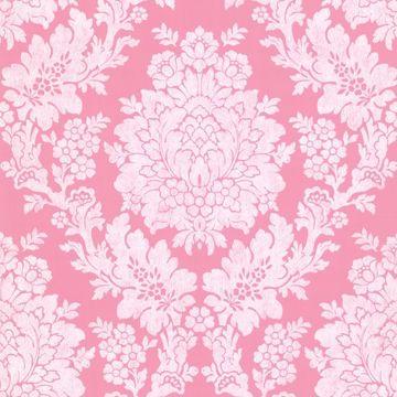 Liza Pink Roselle Damask